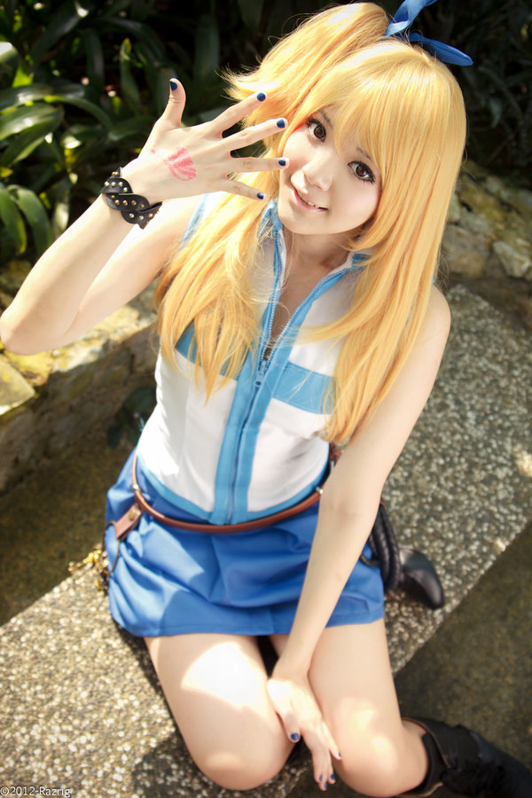 lucy cosplay