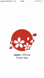 Les applications pour le japon